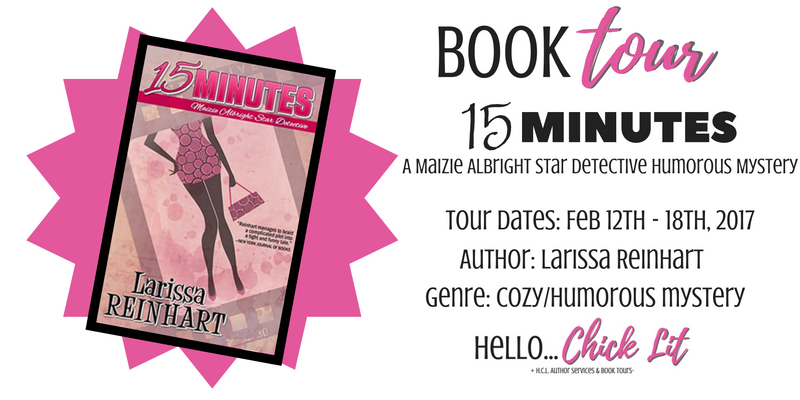 15 Minutes Book Tour