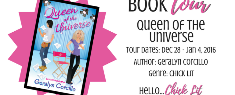 BOOK TOUR: Queen of the Universe