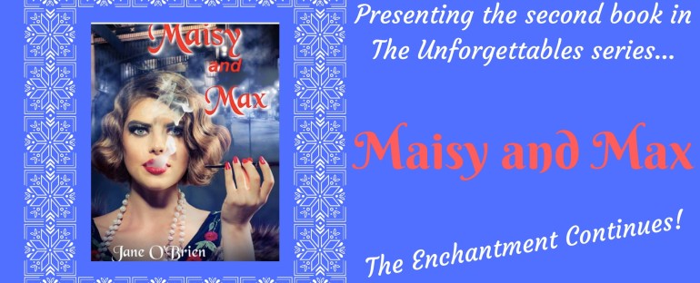 Book Release Day: MAISY AND MAX by Jane O'Brien