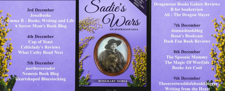 Sharing a new Book: Sadie's Wars by Rosemary Noble