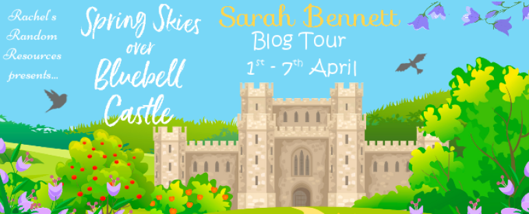 Sharing a New Book: Spring Skies Over Bluebell Castle
