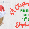 Sharing a New Christmas Book! Giveaway!#AChristmasHamster