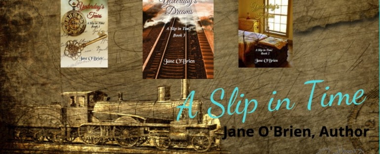 Getting to Know You: Author Jane O'Brien and #ASlipinTime series
